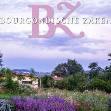 Artikel over ons in Bourgondische Zaken